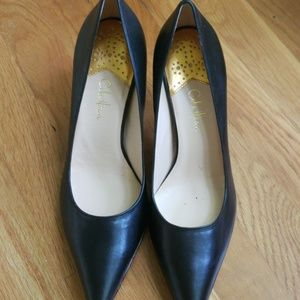 LIKE NEW Size 10 Black Cole Haan heels- 3""